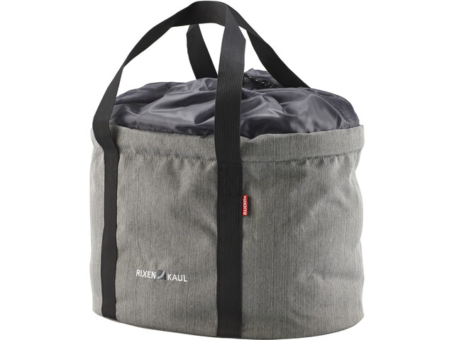 KlickFix Shopper Pro Bike Bag, grey